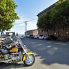 A street in port Townsend - Washington state, USA.