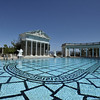 Outdoor pool in the Hearst castle in southern California, USA