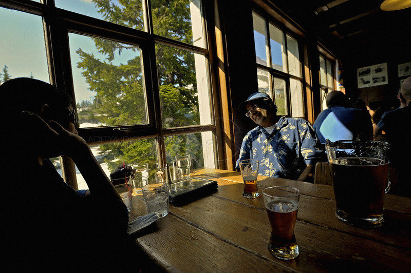 Pub in Mount Hood, Oregon