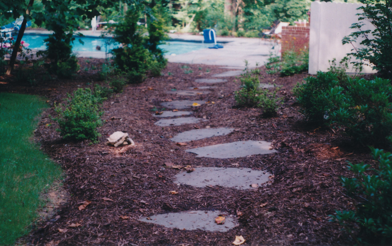 fieldstone stepping stones