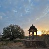 A chattri or Hindu Temple in Rajasthan's Ranthambore tiger reserve