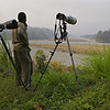 Nature photographers in Namdapha tiger reserve in the northeastern Indian state of Arunachal Pradesh