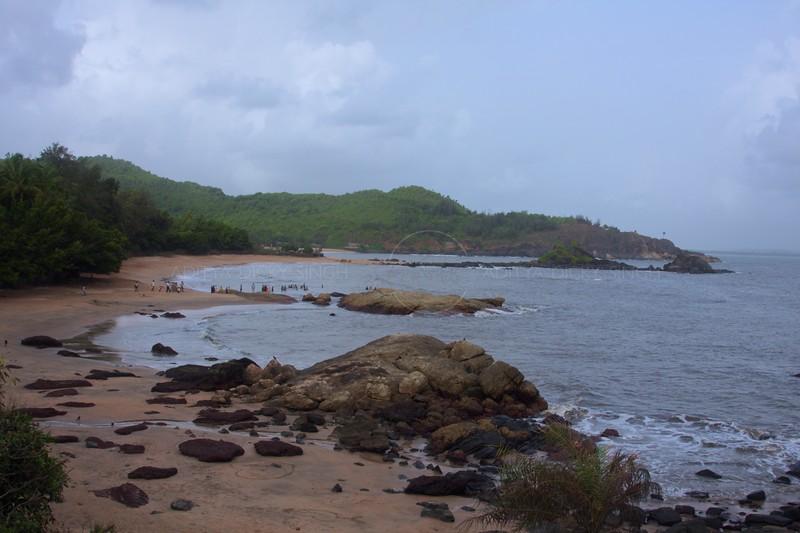 Beach on the Konkan coast in western India
