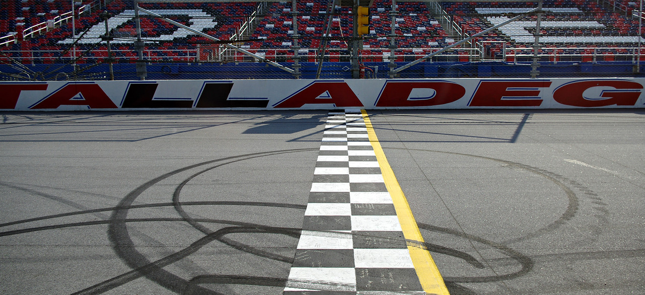 Talladega Superspeedway  finish line