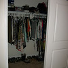 AFTER: 2nd guest bedroom closet (Jamie's clothes)