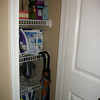AFTER: Linen closet upstairs. (MM did not work on this closet)