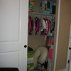 AFTER: Nursery closet (months later)