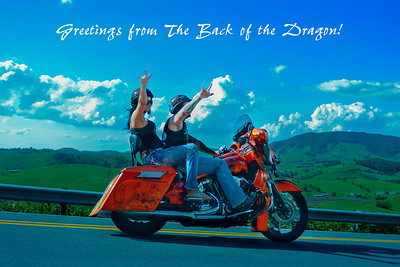 "BOTD Postcard        ""Greetings from The Back of the Dragon!"""