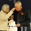 Practicing For Their Old Age<br /> He said something about not having a cake when they got married. They got one now.