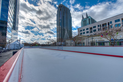 Ice Skating Atlantic Station