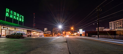 Irby Avenue Buckhead at Night