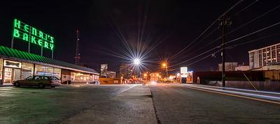 Irby Avenue Buckhead at Night