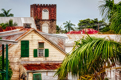 Neighborhood in Belize City