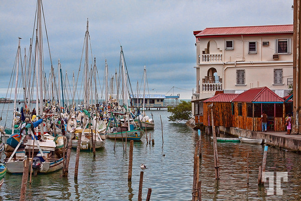 Belize City Harbor  I just sold 25 copies of this postcard on Zazzle :) http://www.zazzle.com/belize_city_postcard-239554937036268348