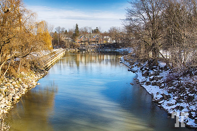 By the river - Meaford, Ontario - a Canadian municipality in Grey County, Ontario. Meaford is located on Nottawasaga Bay, a sub-basin of Georgian Bay, in southern Ontario.