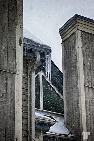 Winter and architecture