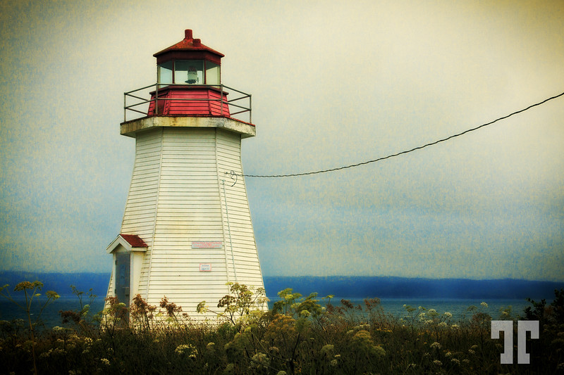 Lighthouse in Gabarus, Cape Breton, Nova Scotia  (ZZ)