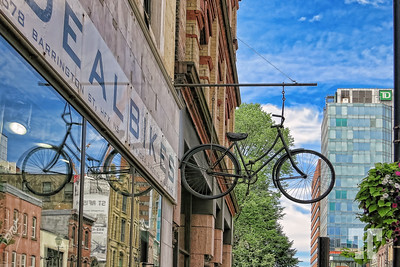 Halifax, Nova Scotia Bike store sign - Halifax, NS