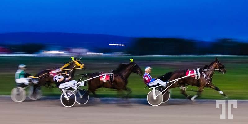 Harness Race - Inverness Nova Scotia, Cape Breton