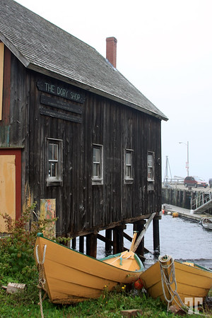 Lunenburg, Nova Scotia, Canada Dory Shop -