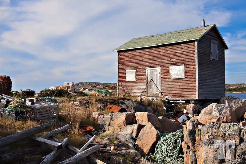 Fogo Island, NFL - fisherman's shack