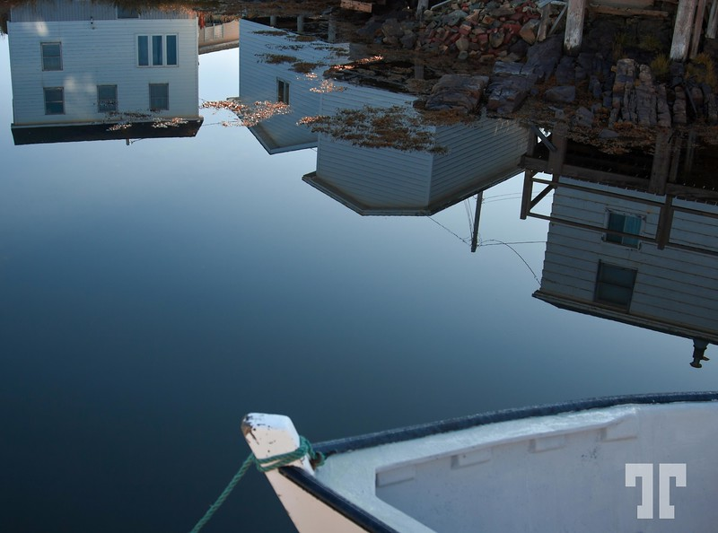 Quiet morning in Fogo island, NFL, Canada  Sept. 2, 2010  (ZZ)