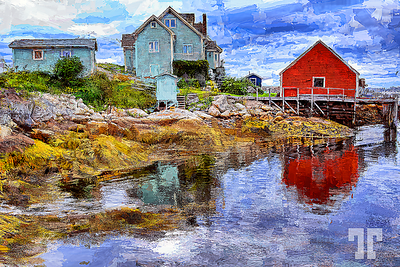 peggys-cove-reflections-painting