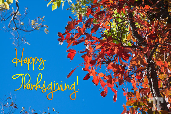 Happy Thanksgiving to all Canadians!  Oct.13, 2014