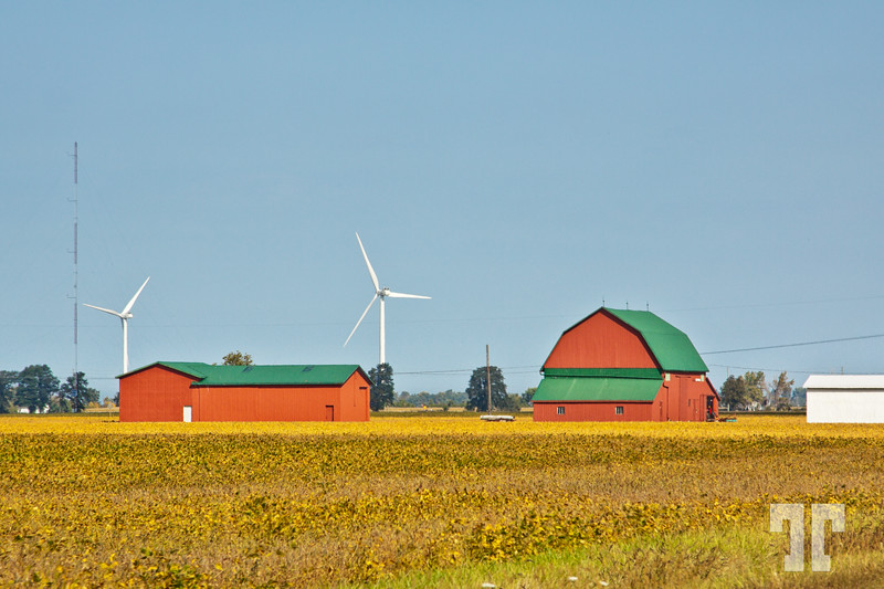 Red barns, Ontario