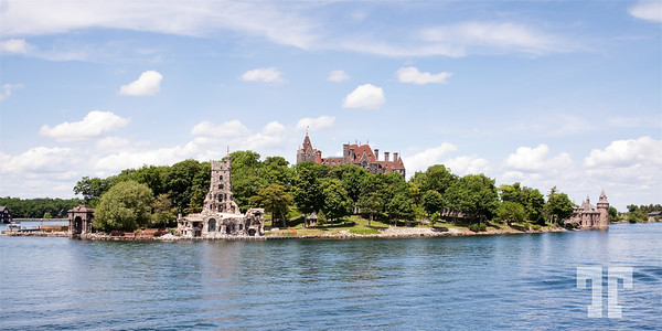 Boldt Castle on Heart Island, Thousand Lakes