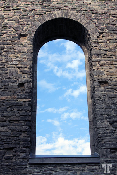 Window detail of St.Raphaels Ruins, a National Historic Site - St.Raphaels Village, Ontario, Canada - Ontario Pictures