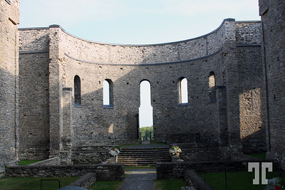 Interior of St.Raphaels Ruins, a National Historic Site - St.Raphaels Village, Ontario, Canada - Ontario Pictures