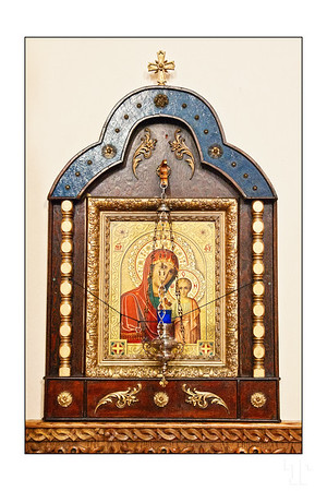 Orthodox icon, in the Russian church in Ottawa