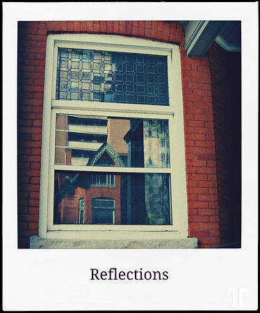 May 20, 2012  Polaroid reflections  * Playing with my old P&S camera and Picmonkey :)