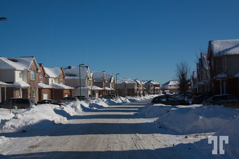 neighborhood Ottawa Canada  - January