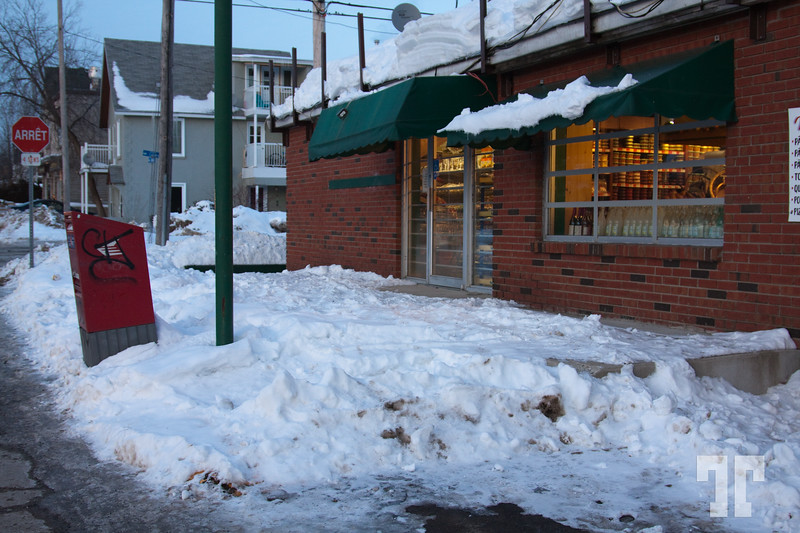 - January 15, 2010<br /> <br /> Neighborhood grocery<br /> <br /> The image is from Gatineau - the French side of Ottawa Canada Ottawa January