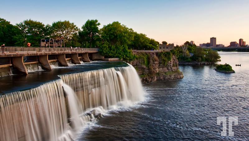 September 8, 09<br /> <br /> Waterfall on Ottawa Canada river Ottawa