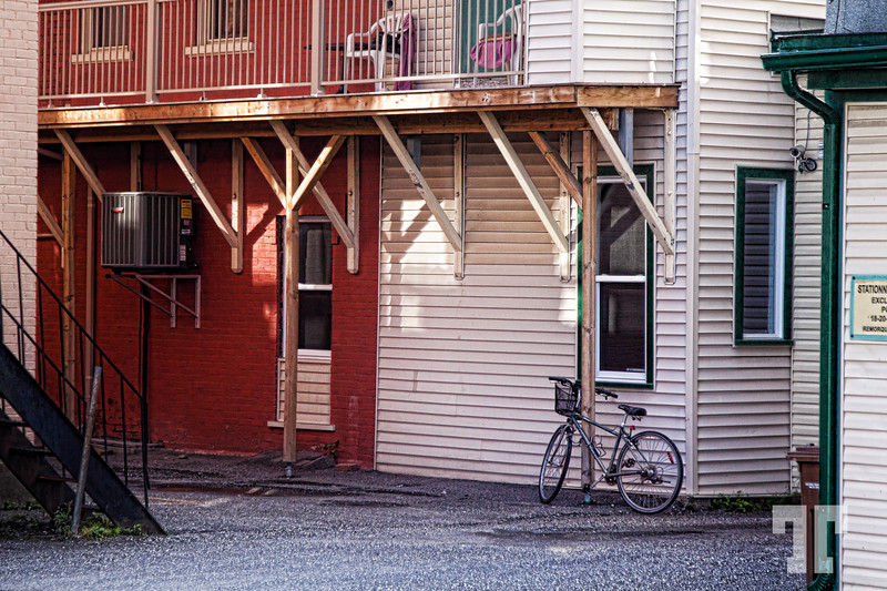 Back street in Magog, Quebec, at the US border (Vermont)  * Thank you so much for all the positive comments on my round barn image, yesterday :)