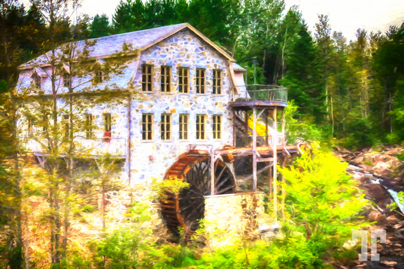 old-mill-quebec-TPainting