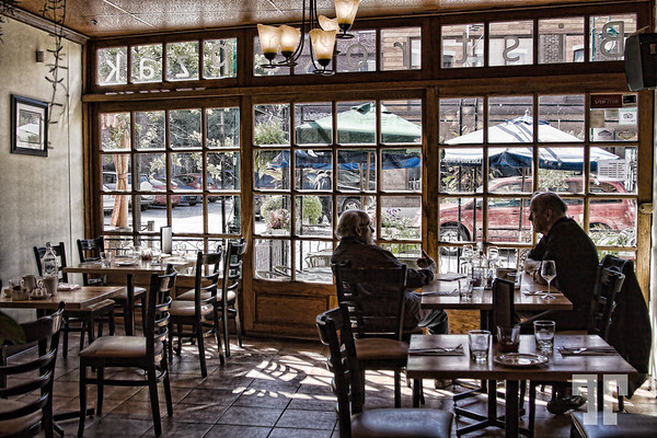 At the bistro - Sherbrooke, Quebec  *This is a Polish bistro, called Kapzak -