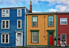 Colorful buildings in St. John's Nwefoundland