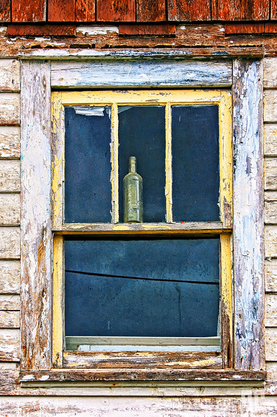 Bottle in the window