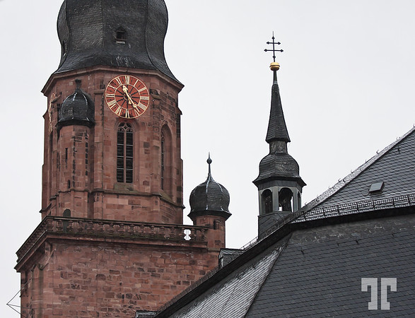 Clock tower, Heidelberg, Germany