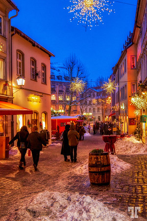 Grüße aus Deutschland - Greetings from Germany!  - We arrived yesterday in Germany :)   At night, in despite of the -19°C (-2F), people were outside in the streets enjoying the holidays - a very festive feeling.  Happy New Year's Eve, everybody!Bamberg, Bavaria, Germany, Europe Germany-Bavaria (Bayern)