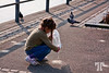 7 April 09<br /> <br /> Girl feeding birds