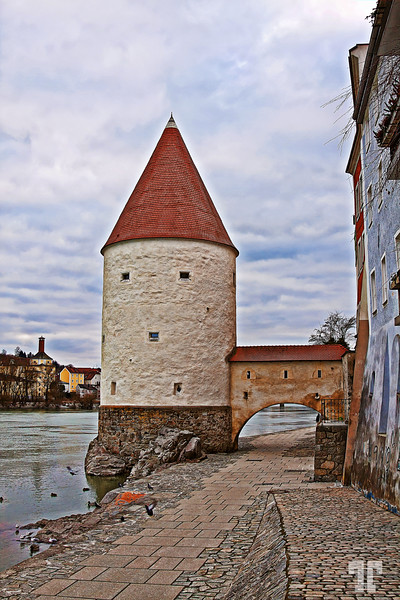 Tower in Passau, Bavaria