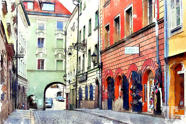 Passau-street-watercolor