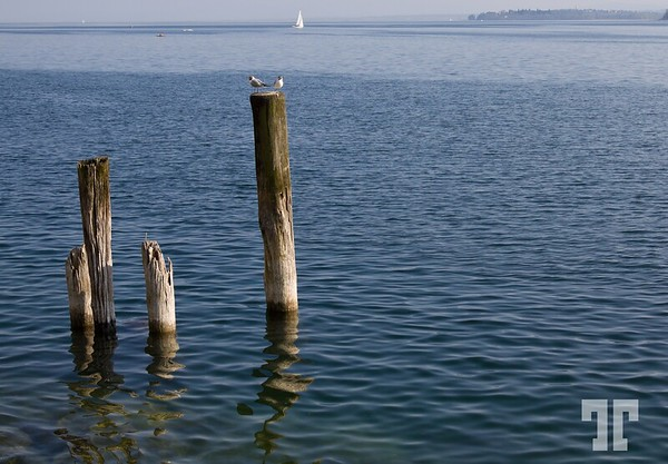 - Lake Constance (Bodensee) at Uberlingen, Bodensee-Lake-Constance
