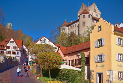 Meersburg on Lake Constance, Germany