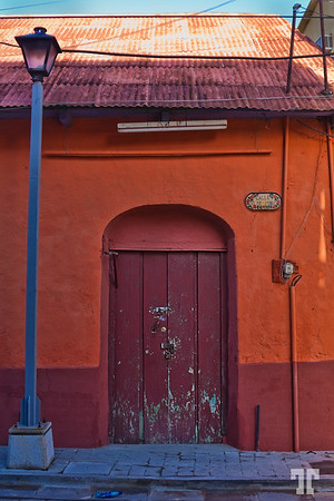Door in Flores Guatemala